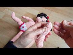 Amigurumi Teknikleri 19 ✔Düğme ile Oynar Eklemli kol.ve bacak yapımı - YouTube