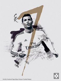 cr7 poster design on Behance