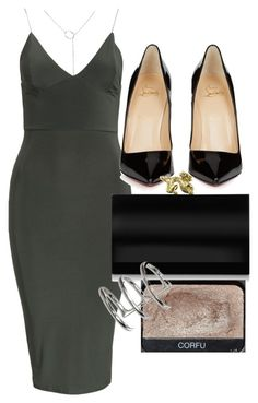 """Untitled #4497"" by olivia-mr ❤ liked on Polyvore featuring Club L, Christian Louboutin, Charlotte Olympia and NARS Cosmetics"