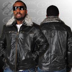 Shopgoodwill.com - #7827892 - Echtes Leder Black Leather Jacket Sz