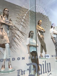 "H&M, London, UK for London Fashion Week, ""The Daily"", pinned by Ton van dr Veer"