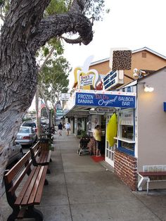 Balboa Island, CA. Spent many a summer week or two here since childhood. Balboa Bars! (chocolate covered ice cream on a stick)