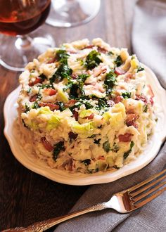 Irish Mashed Potatoes Colcannon
