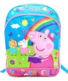She'll run off to class while saying cheese with this fun printed backpack featuring everyone's favorite piggy!...