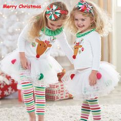 UK My First Christmas Toddler Baby Girl Tops Tulle Tutu Leggings Pants Outfits Kids Christmas Outfits, Baby Girl Christmas, Toddler Christmas, Christmas Deer, Christmas Clothes, Christmas Costumes, Christmas Events, Christmas Pajamas, Christmas Fashion