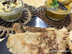 Healthy Oats Dosa