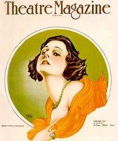 Vargas - Norma Talmadge Theatre Magazine cover