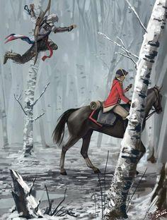 Connor air-horse assassination.