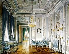 Dressing Room of the Empress Maria Feodorovna at the Gatchina Palace. Found in the collection of State Open-air Museum Palace Gatchina, St.