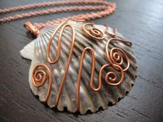 Love sea shells. Love copper. Love to have this!  Please?