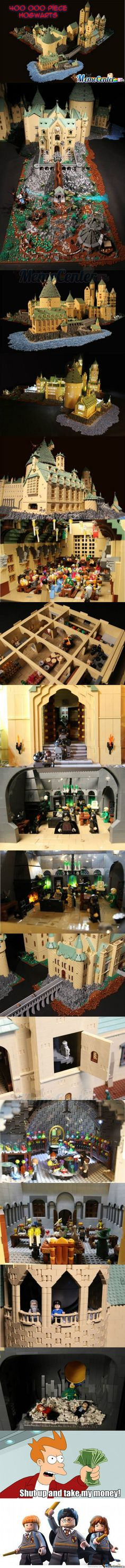 Lego Hogwarts.... I am speechless