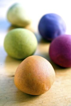All natural aromatherapy play-doh. Why didn't I think of that?