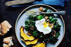We love  the combination of poached egg and sauteed spinach try the recipe on our app  #glutenfree #coeliacawerenessweek #nomnom