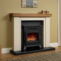 Bracken Electric Stove Fire Suite