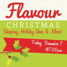 #FlavourSisterhood is a gathering of women who love to DREAM, INSPIRE, CREATE and INFLUENCE. Start off your Christmas season right by spending an evening with us as we shop, share creative ideas and prepare our perspective for a season of celebration.    Bring your favorite sisters with you for a night to remember!