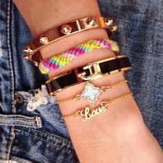 All Stacked Up | Build Your Bracelet Now at LunaMarin.com