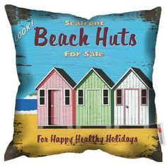 Coussin Martin Wiscombe Beach Huts For Sale