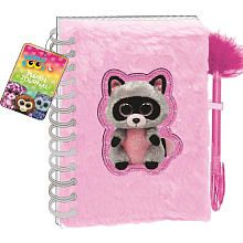 Beanie Boos Plush Journal (Colors/Styles Vary)