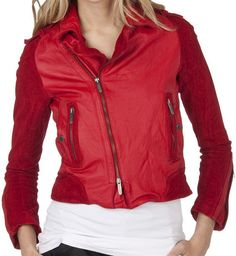 Zac Posen for Target, Moto Red Leather