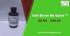 Ash Borer Be Gone ™ Safely promotes healing of the whole tree from the Ash Borer. All organic plant ingredients. 60 ml 2 oz. Price - $46.55 #blackknotdisease #blackknotfungus #blackknot #blackknotbegone #blackknotdiseasestreatment #blackknotfungustreatment #cherrytreefungus #plumtreediseasestreatment #bacterialcankers #cankersonfruittrees #bacterialcankertreatment #fruitrottreatment #blackrottreatment #blackknotfungusspray #leafblight Cycle Of Life, Life Cycles, Ash Borer, The Pipeline, Shipping Pallets, Michigan State University, Beneath The Surface, Thing 1