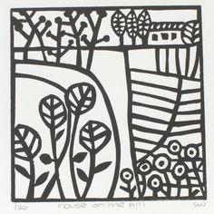 Linocut Prints, Art Prints, Block Prints, Lino Art, Linoleum Block Printing, Linoprint, Chalk Pastels, Tampons, Woodblock Print