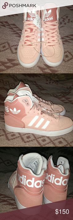 Adidas Originals Extaball NWT (Vapour Pink/White/Raw Pink) 7 1/2 Never worn before. Rare. No longer made in this color. adidas Shoes Sneakers