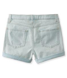 Kids' Soooo Stretchy Light Wash High-Waisted Shorty Shorts -