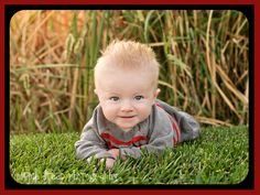 """6 month old picture ideas 