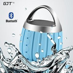 GJT®LP-03 Waterproof Wireless Bluetooth Shower Speaker IPX6 Water Resistant,Bathroom,Pool,Boat,Car,Outdoor Use,Rechargable Battery Support TF card and Aux-in Function(BLUE) GJT http://www.amazon.com/dp/B014J32LCS/ref=cm_sw_r_pi_dp_wcJwwb1441CKW