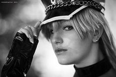 Lucca 2015, cosplayer in biancoenero. – #foto #blog #alessandrogaziano #cosplay #cosplayer #portrait #bn #LuccaComics