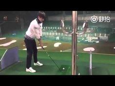 성훈 Sung Hoon plays Golf ( 아이가다섯 Five Children) - YouTube