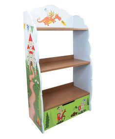 Loving this Knights & Dragon Bookshelf on #zulily! #zulilyfinds http://www.zulily.com/invite/jbell748