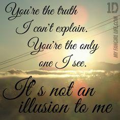 One Direction Four Lyrics - Illusions