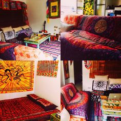 Boho home decor. #bohemian #home #decor #colour #vibes #positive #energy #life #love