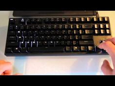 ▶ Playing Snake with hacked Coolermaster Rapid-I firmware - YouTube