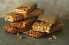 Pumpkin Butterscotch Granola Bars by Heather Christo by Ree Drummond / The Pioneer Woman, via Flickr