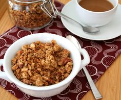 Low Carb Peanut Butter Granola Recipe | All Day I Dream About Food