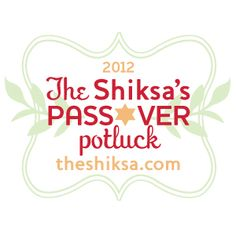 The Shiksa's Passover Potluck - links to eight different kosher for Pesach recipes (check out the roasted root vegetables)