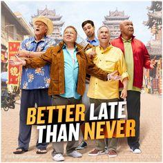 Better Late Than Never (TV Series 2016– ) - IMDb