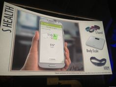 Samsung S Band- Heath apps on your android device!