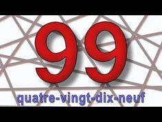 Les chiffres de 70 à 100 - alain le lait (French numbers) - YouTube