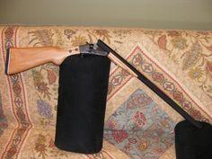 Building a simple break barrel shotgun from scratch - Homemade Shotgun, Derringer Pistol, Rubber Band Gun, Homemade Weapons, Firearms, Shotguns, Medieval Weapons, Custom Guns, Metal Working