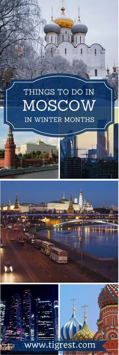 Moscow Russia things to do in November - where to go, what to see, recommendations and personal impressions from our visit in 2016