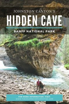 Exploring Johnston Canyon's Hidden Cave // Banff National Park // Alberta, Canada