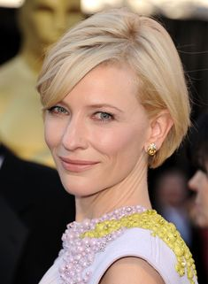 Short hair inspiration late 2011 - 2012, Kate Blanchett