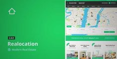 Download and review of Realocation - Modern Real Estate WordPress Theme, one of the best Themeforest Real Estate themes