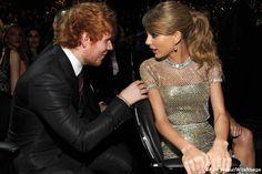 Y es por esto que Tenerife Sea es para Taylor... ''Ed Sheeran Taylor Swift #GRAMMYs''