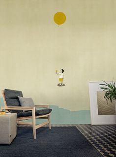 Yellow Mellow di Wall&decò