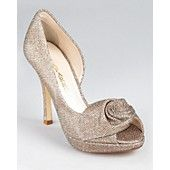 Caparros Pumps - Baldwin Flower d'Orsay. These may not be colorful--but they are gorgeous!!