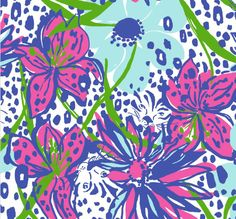 Lilly Pulitzer Spring In the Garden Print I would change colors, ignore Animals and elaborate on flowers. Lilly Pulitzer Patterns, Lilly Pulitzer Prints, Lily Pulitzer, Wallpaper Downloads, Pattern Wallpaper, Wallpaper Backgrounds, Wallpaper Pic, Wallpaper Online, Iphone Backgrounds